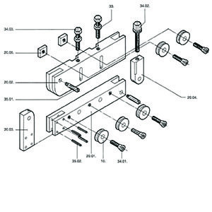 KV Straightener Parts