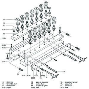 LR Straightener Parts