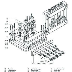 PR Straightener Parts