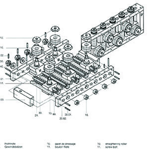 RA Straightener Parts