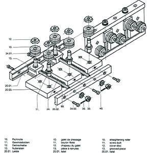 SR Straightener Parts